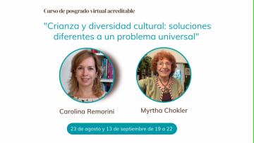 Dos expertas analizarán crianza, diversidad cultural y cuidado de niños en un curso de posgrado