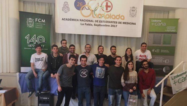 Premiaron a delegación de la UNCuyo en Olimpíada de Medicina