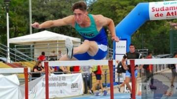 A pura velocidad el atleta de la UNCUYO estableció un nuevo record