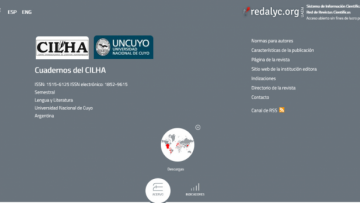 Revista científica de la UNCUYO ingresó al sistema de indización Redalyc