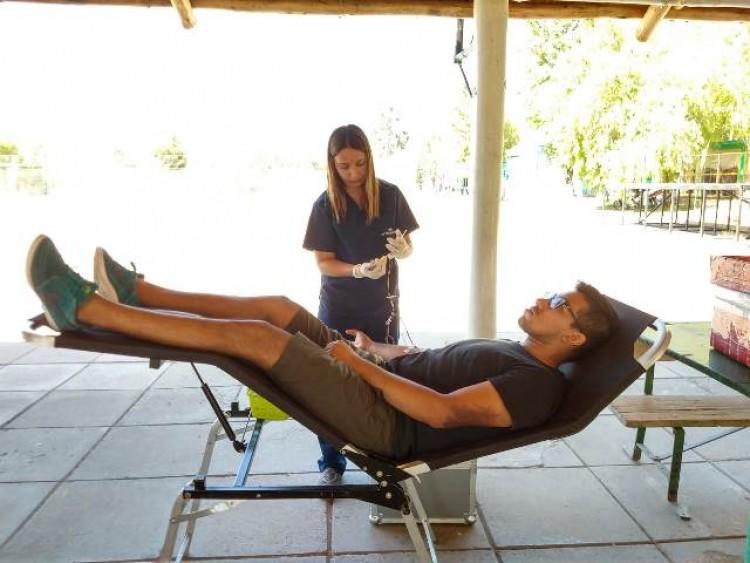 Deportistas de la UNCUYO donaron sangre