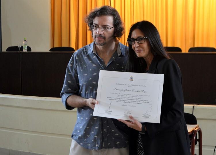 Nuevo reconocimiento para el paleontólogo Bernardo González Riga