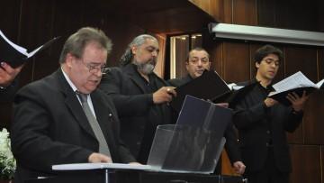 Las voces del Coro de Cámara a beneficio del Hospital de la UNCuyo