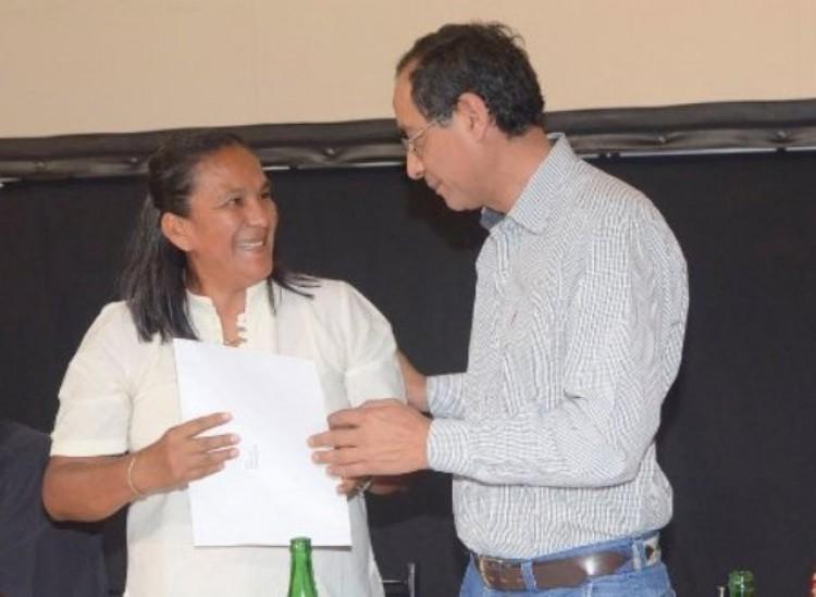 Milagro Sala es Huésped de Honor de la Universidad