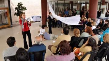 """Muestra de arte """"para construir memoria"""" fue inaugurada en la UNCuyo"""