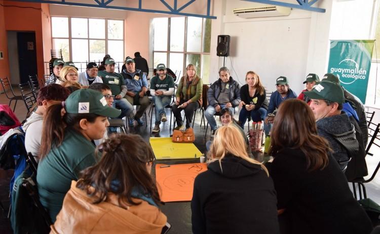 Recuperadores compartieron experiencias en la gestión de residuos
