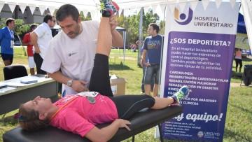 Profesionales del Hospital atendieron a maratonistas