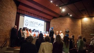 Jubilados y pensionados celebraron el cumpleaños de la UNCUYO