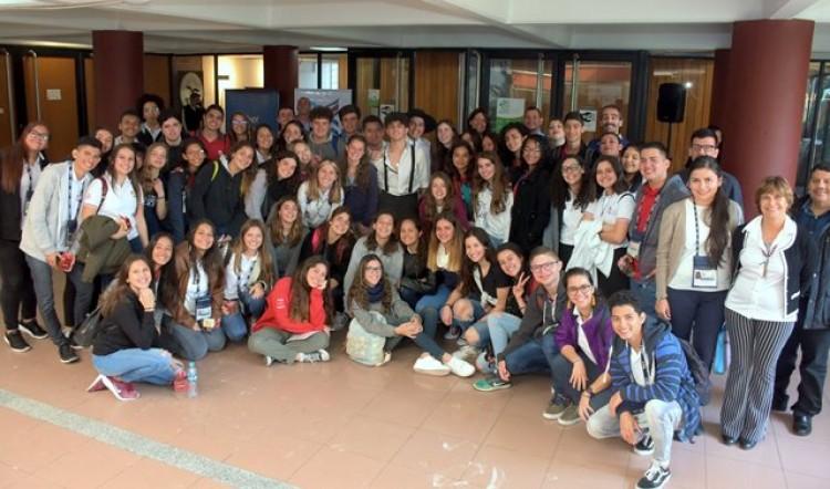 Estudiantes costarricenses de intercambio visitan la UNCuyo