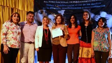 Premiaron proyecto educativo que lucha contra el cambio climático