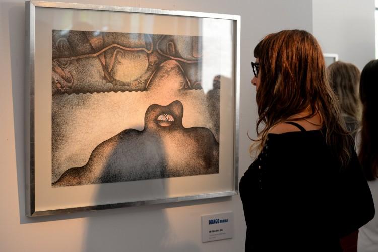 La obra de Brajak inauguró la temporada de Arte en la UNCUYO
