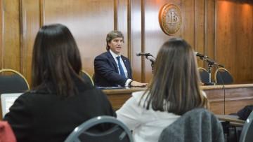 Titular del Tesoro de la Nación expuso sobre institucionalidad