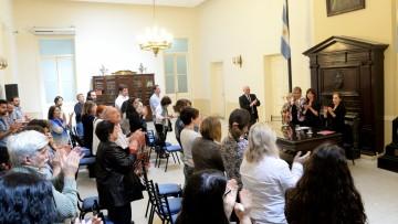 Distinguieron la labor del Instituto de Estudios de Género y Mujeres