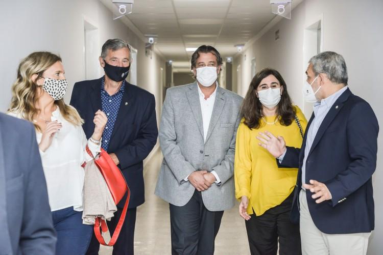 Hospital Universitario: la sala de internación nuevamente a disposición del sistema sanitario provincial