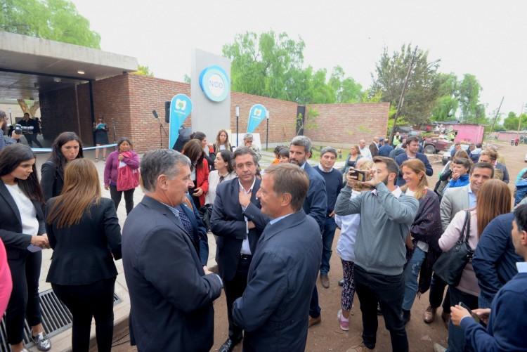 """Presentaron """"Universidad Sin Muros"""" en la inauguración de un NIDO en el Barrio Flores"""