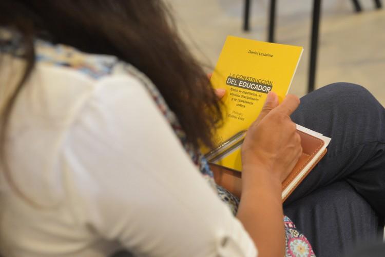 Libro de reconocido filósofo busca contribuir con la formación docente