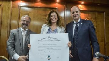 La UNCUYO incluyó a especialista en Derechos Humanos entre sus doctores honoris causa