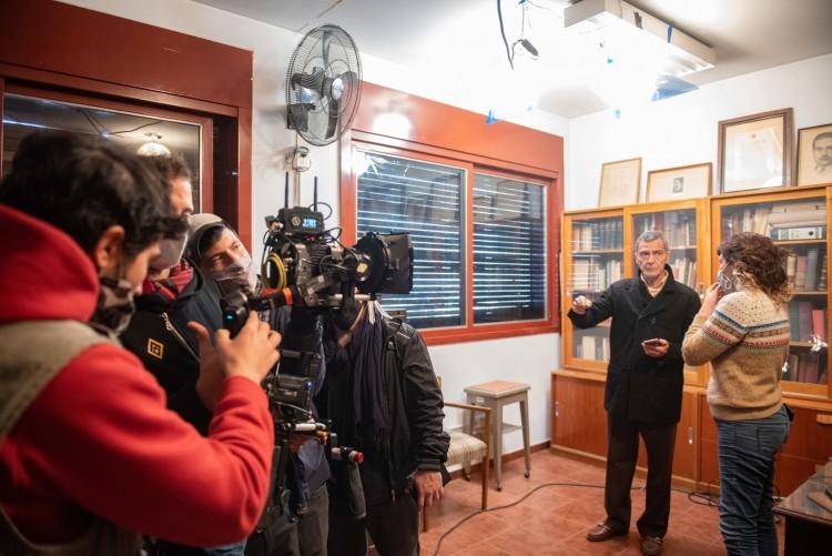 Cine Nacional: en la UNCUYO se graba parte de la película 1%