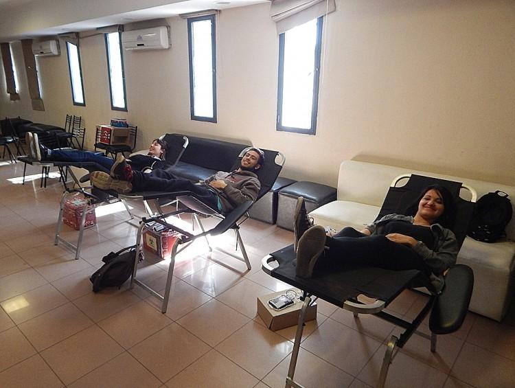 Donar sangre como un acto de solidaridad