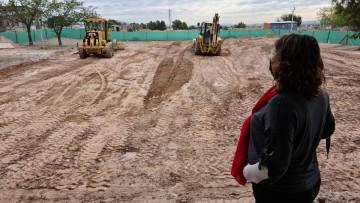 Comenzaron las obras para ampliar el edificio de la Facultad de Educación en el Campus