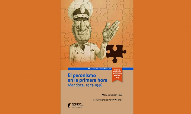 Presentan libro sobre el peronismo ganador de concurso de Ediunc