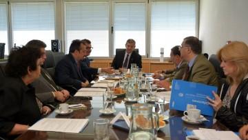 Representantes de la embajada de Francia visitaron la UNCuyo