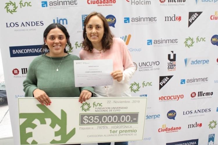 Pampa Hidropónica: la idea ganadora del Emprende U