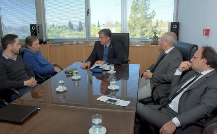 Acordaron actividades en conjunto en el Centro Integrador Universitario de San Rafael