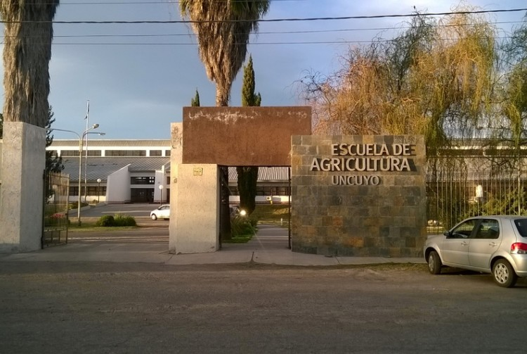Situación en la Escuela de Agricultura del Alvear por el viento zonda