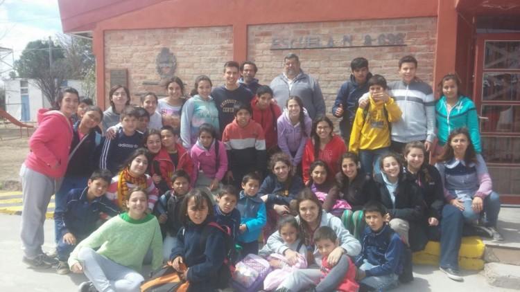 Chicos del CUC realizaron actividades solidarias para mejorar la calidad de vida