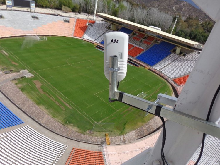 Nueva conexión de datos de alta velocidad entre la UNCuyo y el Estadio Malvinas