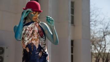 Un festival de estatuas vivientes para disfrutar al aire libre