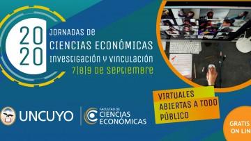 Virtuales, gratuitas e internacionales: inscriben a las Jornadas de Ciencias Económicas
