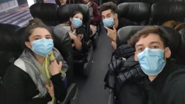 Regresan estudiantes de la UNCUYO afectados por el cierre de fronteras