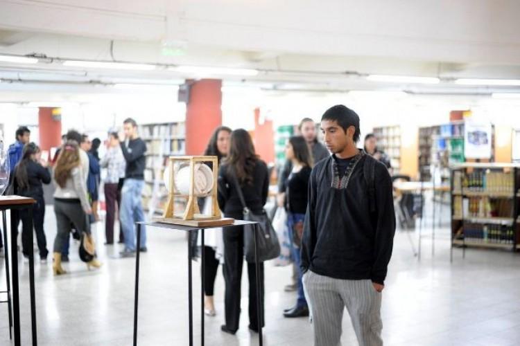 Arte e inclusión, en una muestra que se inauguró en la Biblioteca Central