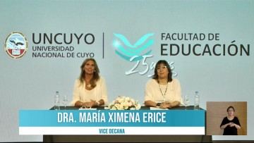 La Facultad de Educación festejó su vigésimo quinto aniversario