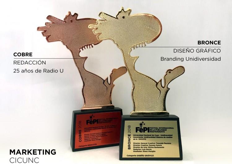 Dos premios publicitarios se llevó la Universidad