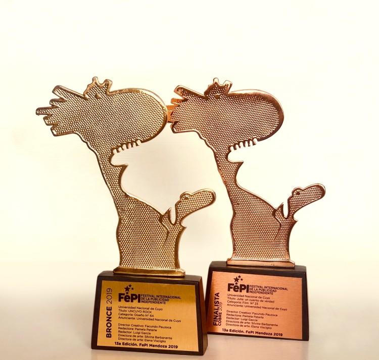 Nuevos premios publicitarios para la UNCUYO