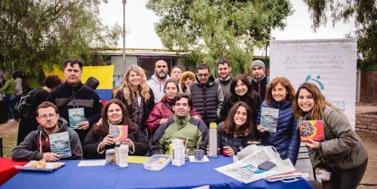 Integrantes de proyectos sociales compartieron una feria