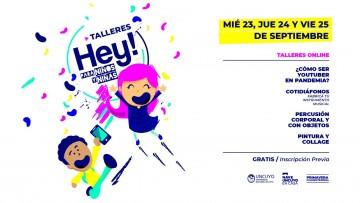 Se viene una nueva edición del Festival HEY!