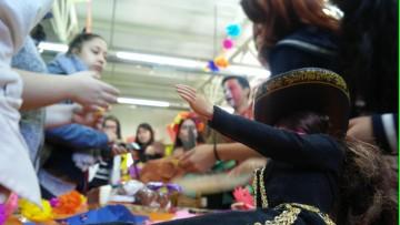 Comidas y música de otros países se conjugaron en un festival