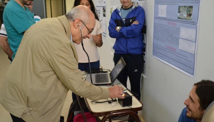 Desafiaron la física en una muestra interactiva
