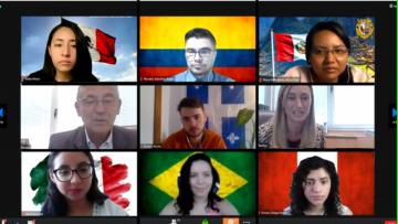 Sesenta y cinco extranjeros comenzaron a cursar online en la UNCUYO
