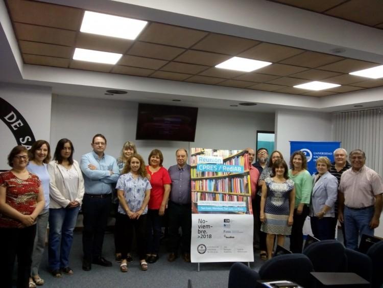 Se reunieron bibliotecarios del Consejo Regional de Educación Superior