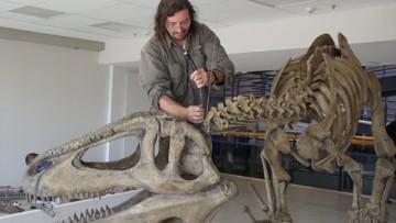 La Brújula tiene un laboratorio de dinosaurios de la UNCuyo
