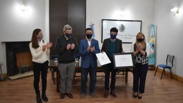 La Cámara de diputados de Mendoza reconoció a profesor de la UNCUYO