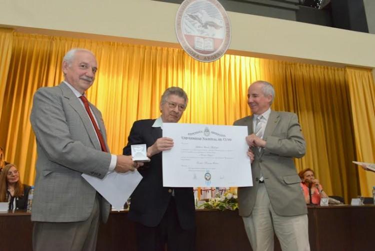 Gilberto Gallopín y Hugo Scolnik, nuevos Honoris Causa de la UNCuyo