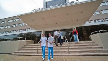 Colecta de sangre en el Hospital Universitario