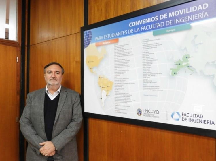 Docente de la UNCUYO recibirá la máxima distinción académica del gobierno francés