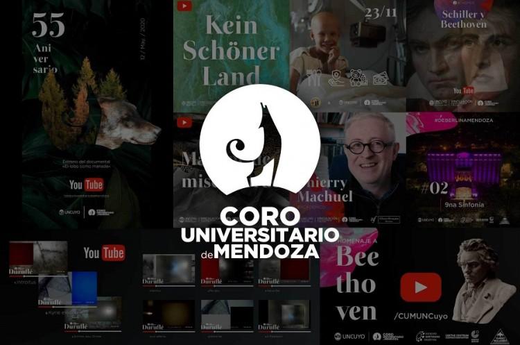 2020, año de aprendizaje e innovación para el Coro Universitario de Mendoza